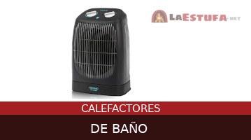 Calefactores de baño