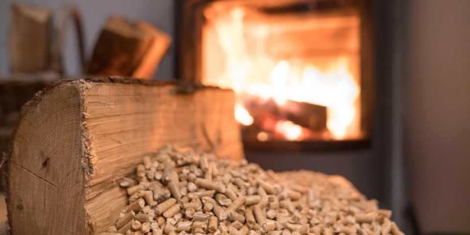 estufa de madera
