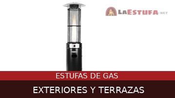 Estufas de Gas Para Exteriores y Terrazas