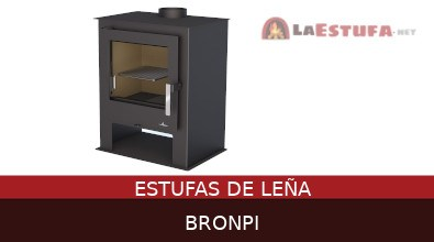 Estufas de leña Bronpi