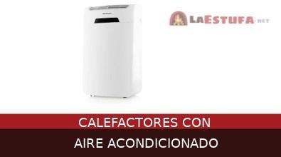 Calefactores con aire acondicionado