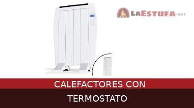 Calefactores con termostato