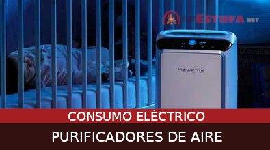 ¿Cuánto consume un purificador de aire?